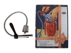 """Dampfkonservierer """"PEFRA"""", 30-40er Jahre in Originalverpackung, Hersteller Peter Franken, Düsseldorf"""