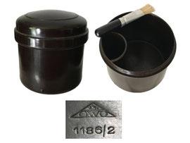 Kleister-/Leimdose OWO 1186/21, 1186/2, Schweiz - Höhe 7 cm, Durchmesser unten ca. 6.5 cm