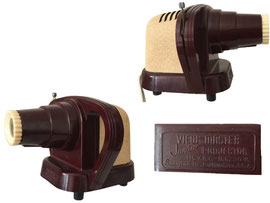 View-Master Junior Projector, Sawyer, 1950-er, Portland, Oregon, USA - Länge ca. 17 cm, Höhe ca. 12.5 cm