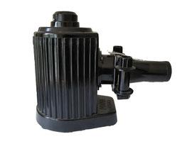 POUVA MAGICA Rollfilmbetrachter, ab 1945, (Eine weiterentwickelte Laterna Magica für Rollfilme und Dias), Hersteller Karl Pouva AG in Freital (Sachsen), ein DDR-Produkt - Höhe ca. 19 cm