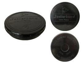 Dose, Isolierband Extra Prima, VEB Gummi-Textil-Werk, Bad-Blankenburg - Durchmesser 10.3 cm, Höhe 2 cm