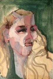 O. T., 2012, Malerei auf Papier, 31 x 43 cm