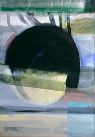 I von III, 2014, Malerei auf Leinwand, 70 x 100 cm