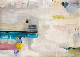Lesconil I, 2013, Malereri auf Papier, 121 x 86 cm