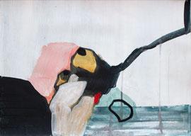 O. T., 2011, Malerei auf Papier, 43 x 31cm