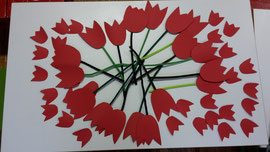 Blumen für den 8. März (Internationaler Frauentag)