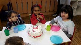 4. Geburtstag von Amina