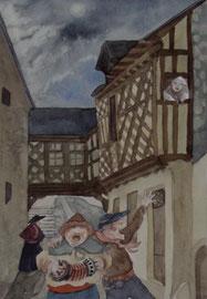 rue denis Papin à Blois