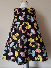 Voor: Flowerladies, so cute katoenen jurkje. Artikelcode 98-026. Prijs 34,95 excl. verzendkosten.