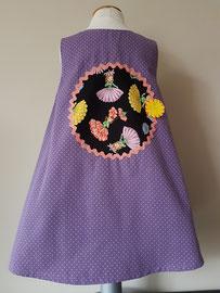 Achter: Flowerladies, so cute katoenen jurkje. Artikelcode 98-026.