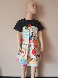 Voor: So cute katoenen jurkje. Artikelcode 116-022. Prijs 37,95 excl. verzendkosten.