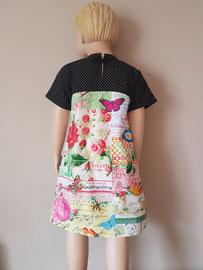 Achter: So cute katoenen jurkje. Artikelcode 116-022.