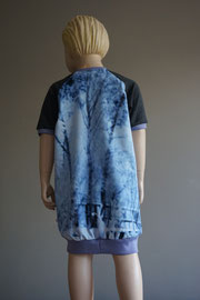 Acher: Zwanen, sweaterdress van tricot. Artikelcode 116-012.