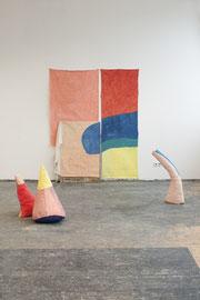 Konstellation 6, exhibition view: HGB-Rundgang 2018, Mixed media, size variabel, 2018 (Photo by Moritz Zeller)
