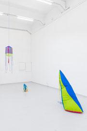 exhibition view: Das ist der Regen. Der Regen regnet, a&o Kunsthalle Leipzig