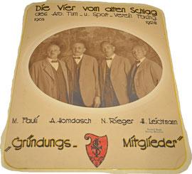 Gründungsmitglieder 1903