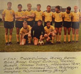 Erste Mannschaft 1967/1968