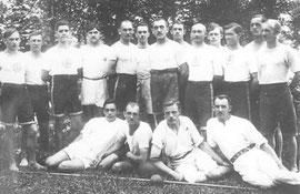 Erste Mannschaft 1920