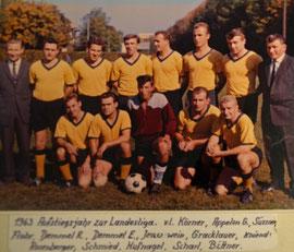 Aufstiegsjahr in die Landesliga