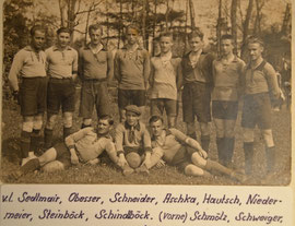 Erste Mannschaft 1923