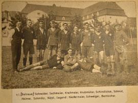 Erste Mannschaft 1922