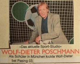 ZDF Moderator Poschmann - ehemaliger Jugendspieler