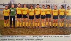 Erste Mannschaft 1976