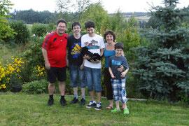 Alma mit Familie Candels