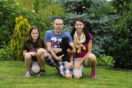 Anuschka( Anou) mit Familie Ullrich
