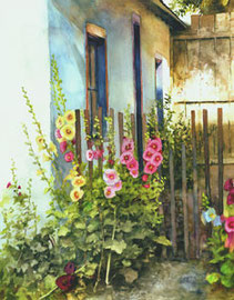 Hollyhock Hang Out