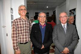 Foto extraída de www.lapatria.com.co - Luis Álvarez, Octavio Hernández Jiménez y Juan Manuel Sarmiento Nova.