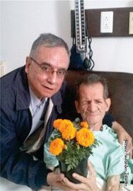 Con mi amado hermano Samuel Hernández Jiménez Q.E.P.D