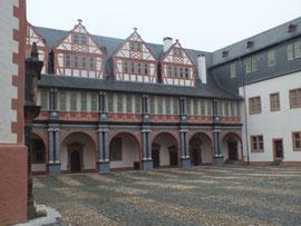 Nordflügel (1570-72), Umbauten 17. und 18. Jh.