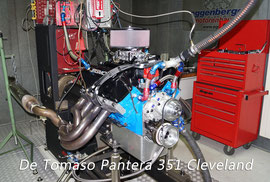 Motorenprüfstand De Tomaso Pantera