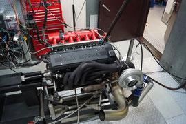 Motorenprüfstand BMW M3 3.0 Methanol Dragster