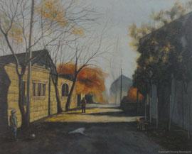 Kindheitstraum, 2014, Öl auf Leinwand, 41x51