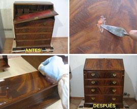 Restauración escritorio.