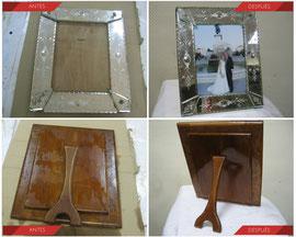 Restauración espejo veneciano