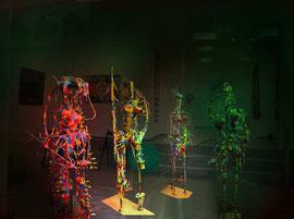 """Skultpuren """"Walküren"""" in der Ausstellung 2011"""