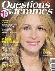 QUESTION DE FEMMES < DINDON MAGNETIK , PORTE COUTEAU MURAL - FEV 2014