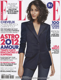 ELLE MAGAZINE - DINDON MAGNETIK - DEC 2011