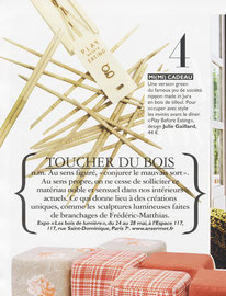 GRAZIA MAGAZINE - PLAY BEFORE EATING - JEU DE BAGUETTES - MAI 2012
