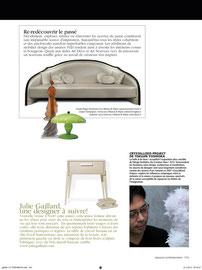 ESPACES CONTEMPORAINS - SUISSE - NOW DESIGN ! MAISON & OBJET - JANVIER 2012