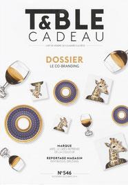 TABLE & CADEAU < PORTRAIT - NOVEMBRE 2014