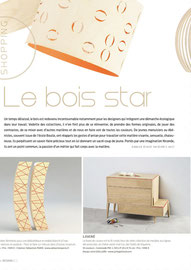 LA SEMAINE MAGAZINE - COMMODE COLLECTON LISERE < MARS 2014