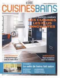 COTE CUISINES BAINS - PLANCHES MAGNEITK - SEPTEMBRE 2012