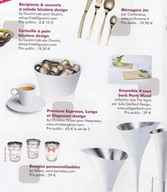 NEW DECO MAGAZINE - PÄRTY MOOD SOUS VERRE - DECEMBRE 2012