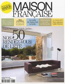 MAISON FRANCAISE - TABLE ROMAN - JUIN 2012