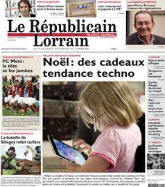 REPUBLICAIN LORRAIN < WISHBONE / COUVERTS A SALADE AIMANTES - 10 NOVEMBRE 2013