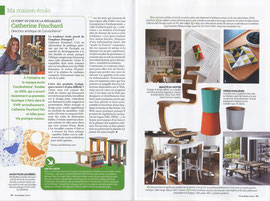 VIE PRATIQUE MAISON - INTERVIEW ECO DESIGN - DINDON MAGNETIK, SERVICE BEL HERITAGE - MAI 2012